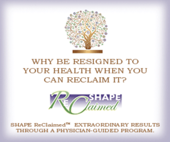 why be resigned to your health when you can reclaim it?